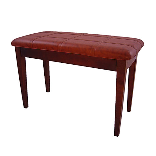 Piano Bench With Storage, Padded Top (Walnut)